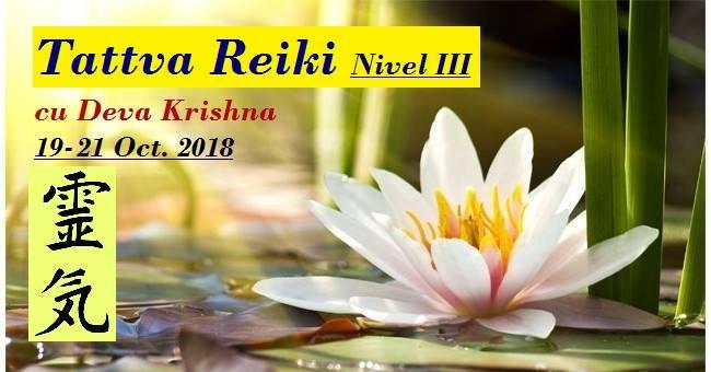 Reiki III livelli 19-21 Agosto 2018