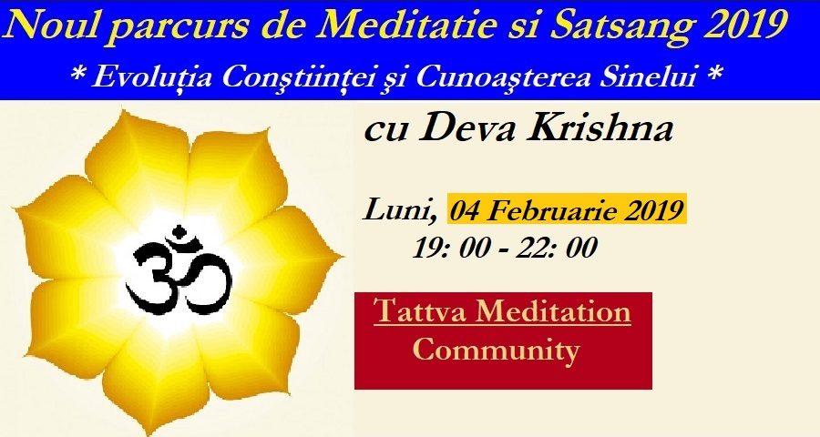 Meditazione e Satsang percorso 2019