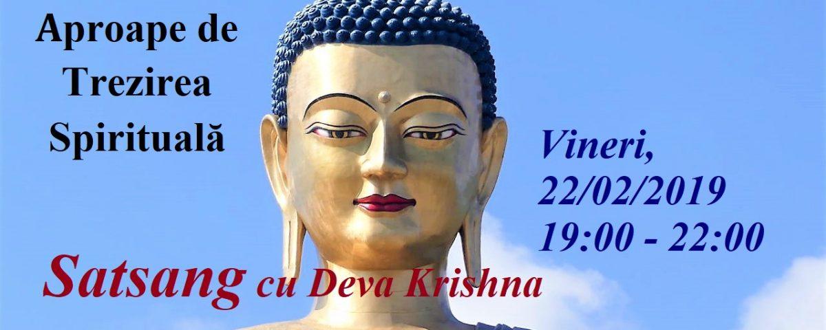 Meditazione e Satsang 22 Febbraio 2019