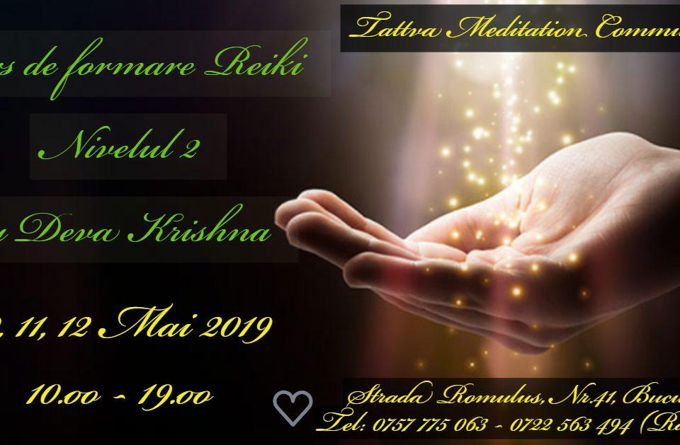 Corso di Reiki II° Livello 10-12 maggio 2019