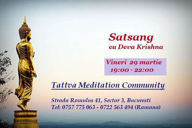 Meditazione 29 Marzo 2019