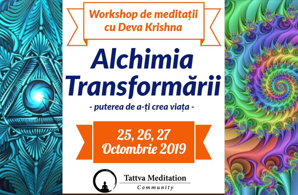 Alchimia della trasformazione 25-27 ottobre 2019