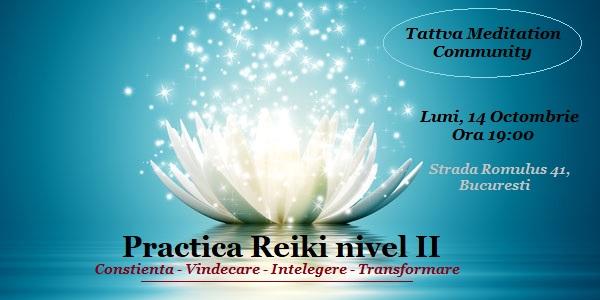 Pratica Reiki II livello 14 Ottobre 2019
